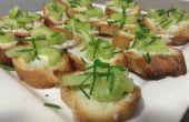 Gorgonzola en selderij snack (voor Aperitivo)