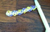 Hoe maak je Rainbow Loom armbanden of ringen met behulp van de triple diamond patroon