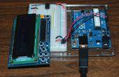 16 x 2 LCD-scherm voor ATtiny85, slechts twee pinnen