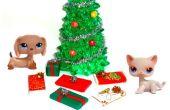 Miniatuur kerstcadeautjes maken