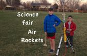 Science Fair lucht raketten