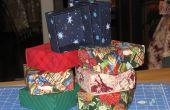 Maken van stof geschenkdozen