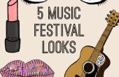 5 gemakkelijk muziek Festival ziet er