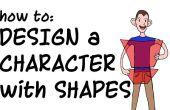 Ontwerpen van een stripfiguur met Shapes