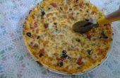 Hoe maak je pizza (echte gemakkelijk)