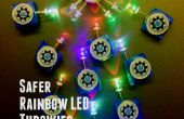 Gemeenschap Kids' Build: Veiliger Rainbow LED Throwies