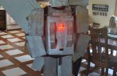 Silverbolt Transformer kostuum met LEDs