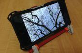 Verstelbare knex stand voor uw smartphone en tablet