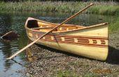 Mijn ceder-strip kano bouwen