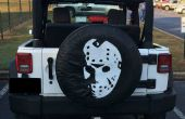 Halloween Tire Cover