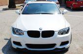 Installeren van BMW LED Angel Eyes koplamp