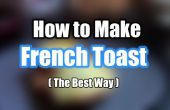 Hoe maak je Franse Toast - eenvoudig recept