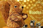 Een industriële houten kerstboom maken
