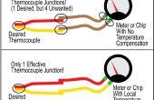 Hoe te identificeren rode en gele draden op een K-thermokoppel... met een magneet!