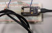 Programmering ESP8266 ESP-12E NodeMCU v1.0 met Arduino IDE in draadloze temperatuur logger