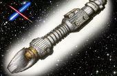 Tekenen van een 3D Lightsaber - Tips en technieken om realistische lightsaber creat een 3D tekening