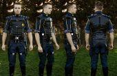 Commander Shepard staal versterkt Uniform - Mass Effect 3