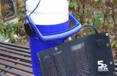 Persoonlijke zonne-aangedreven airconditioner