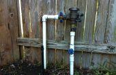 DIY ongediertebestrijding via gazon sprinklersysteem