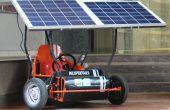 Zonne energie Go Kart