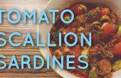 Gemakzuchtige oplossing te halen van conserven van Sardines heerlijke