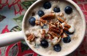 Heerlijk Promeal recept: Eiwit + havermout