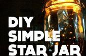 Eenvoudige ster Jar