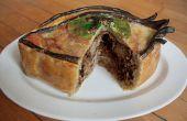 Pie-Eyed vlees Pie: Dronken Pulled Pork
