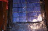 De Darth zonne-aangedreven ruimte Engineer's Clip boord & rugzak behuizing