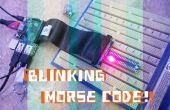 Knipperen van Morse Code