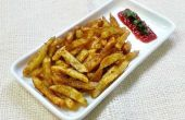 Kruidige aardappel frietjes