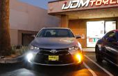 How To Convert Toyota Camry Turn Signal Lights naar LED DRL