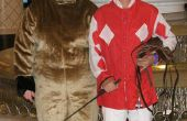 Onze Halloween Party kostuums - Race Horse & Jockey