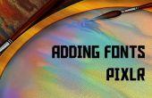 Lettertypen downloaden en installeren op Pixlr kostenloos!