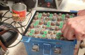 NiCad vliegtuigen batterijen vervangen door nieuwe droog-celbatterijen!