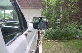 Ford F150 - F250 handmatige chroom zijaanzicht spiegel, een goede mirror verwijderen uit een gebroken draaibaar