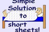Eenvoudige oplossing voor korte bladen