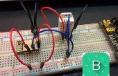 ESP8266-12 blynk draadloze temperatuur, vochtigheid DHT22 sensor
