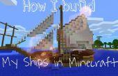 Hoe bouw ik mijn schepen in Minecraft