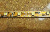 Hoe om te solderen van de draden op een gemeenschappelijke LED-strip