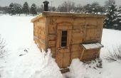 Hout branden Sauna DIY