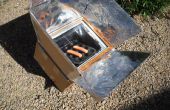 Karton en Duct tape zonne-Oven