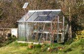 Automatische zonne-aangedreven broeikasgassen drenken systeem