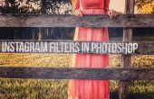 Hoe maak je Instagram Filters in Photoshop