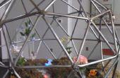 Steampunk geodetische Terrarium
