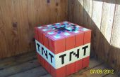 Kartonnen Minecraft TNT