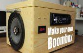 Maak uw eigen Boombox