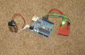 Macht Arduino van een 9v batterij.