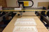 Aangepaste houten borden gemaakt met Shopbot CNC Router