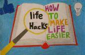 Verbazingwekkende leven Hacks voor luie mensen